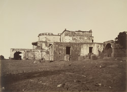 Back of Hindoo Rao's House, [Delhi].